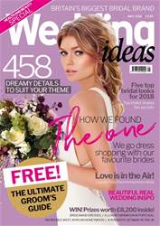 Wedding Ideas magazine issue May 2018