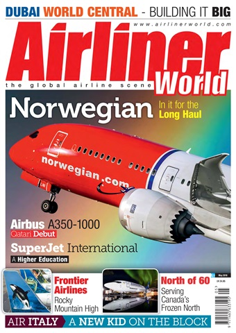 Airliner World issue  May 2018