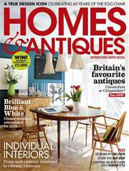 Homes & Antiques Magazine issue May 2018