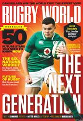 Rugby World issue May 2018