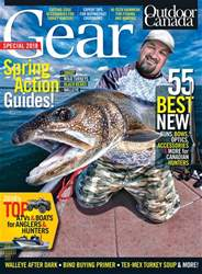 Outdoor Canada issue Gear Special 2018