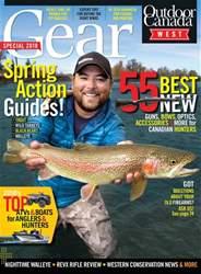 Outdoor Canada Magazine Cover
