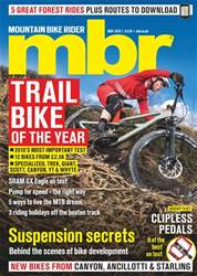Mountain Bike Rider issue May 2018