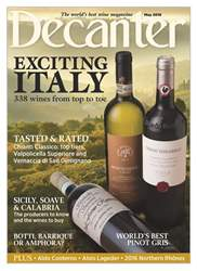 Decanter issue May 2018