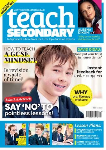 Teach Secondary issue V.7 No.3