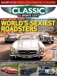 Classic & Sports Car issue May 2018