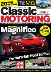 Classic Motoring issue May-18