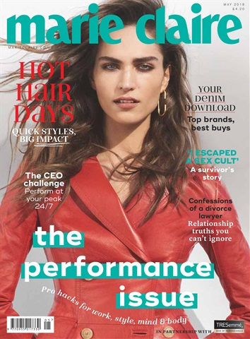 Marie Claire issue May 2018
