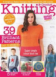 Knitting & Crochet issue May 2018