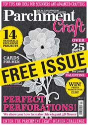 Parchment Craft issue Sample Issue