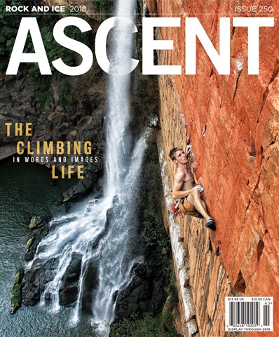 Rock and Ice issue May, Ascent, 2018