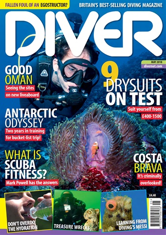 DIVER issue MAY 2018