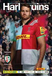 Harlequins issue Harlequins v London Irish · Match 15