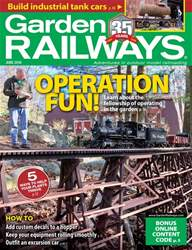 Garden Railways issue June 2018