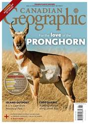 Canadian Geographic issue May/June 2018