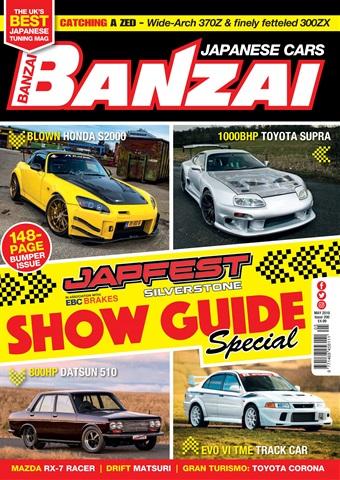 Banzai issue May 2018
