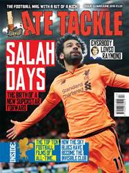 Late Tackle Football Magazine issue May/Jun 2018
