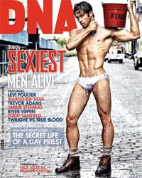 DNA #128 - Sexiest Men Alive issue DNA #128 - Sexiest Men Alive