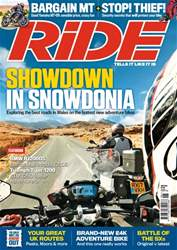 Ride issue June 2018