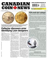 Canadian Coin News issue V56#02 - May 1