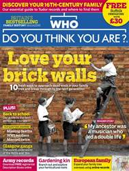 Who Do You Think You Are? issue May 2018