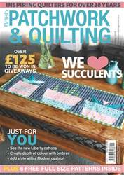 Patchwork and Quilting issue May-18