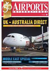 Airports International issue April/May 2018
