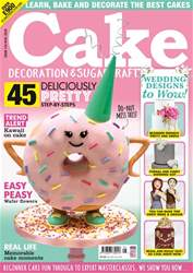 Cake Decoration & Sugarcraft Magazine issue May 2018