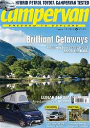 Campervan issue Campervan – The Brilliant Getaways issue 13