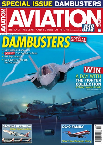 Aviation News incorporating JETS Magazine issue  May 2018