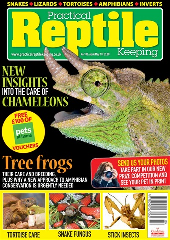 Practical Reptile Keeping issue Apr - May 2018