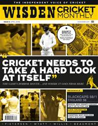 Wisden Cricket Monthly issue April 2018