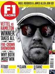 F1 Racing issue May 2018