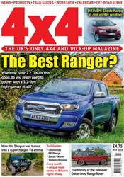 4x4 Magazine incorporating Total Off-Road issue May 2018