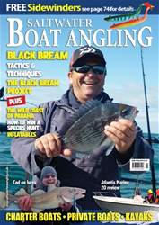 Saltwater Boat Angling issue May-18