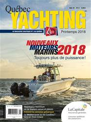 Quebec Yachting issue Printemps 2018