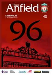 Liverpool FC Programmes issue vs Bournemouth 17/18
