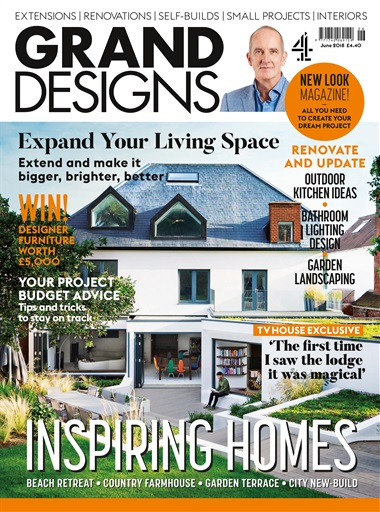 Grand Designs Magazine - June 2018 Subscriptions | Pocketmags