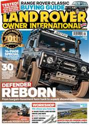 Land Rover Owner issue May 2018