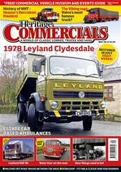 Heritage Commercials Magazine Magazine Cover