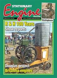 Stationary Engine issue June 2018