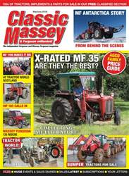 Classic Massey issue May/June 2018