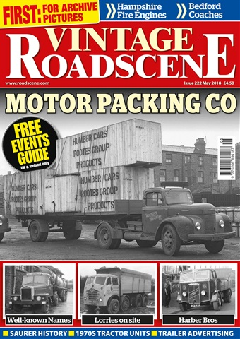 Vintage Roadscene issue May 2018