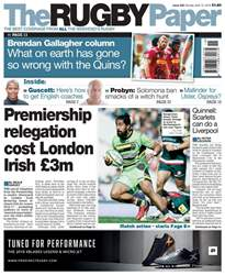 The Rugby Paper issue 15th April 2018
