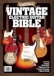 The Guitar Magazine issue Vintage Guitar Bible