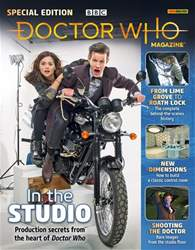 Doctor Who Magazine issue DWM Special 49 - In the Studio
