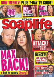 Soaplife issue 21st April 2018