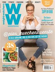 Weight Watchers Magazin Deutschland issue Juni/Juli 2018
