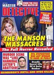 Master Detective May 2018 issue Master Detective May 2018