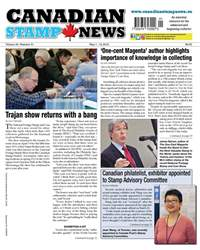Canadian Stamp News issue V43#01 - May 1.18